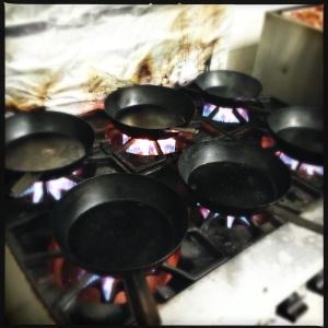 hot pans