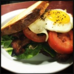 blt and egg